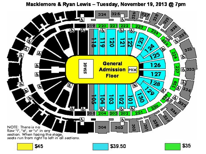 Pnc Arena Macklemore Amp Ryan Lewis