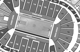 Seating Thumbnail - Mens Basketball